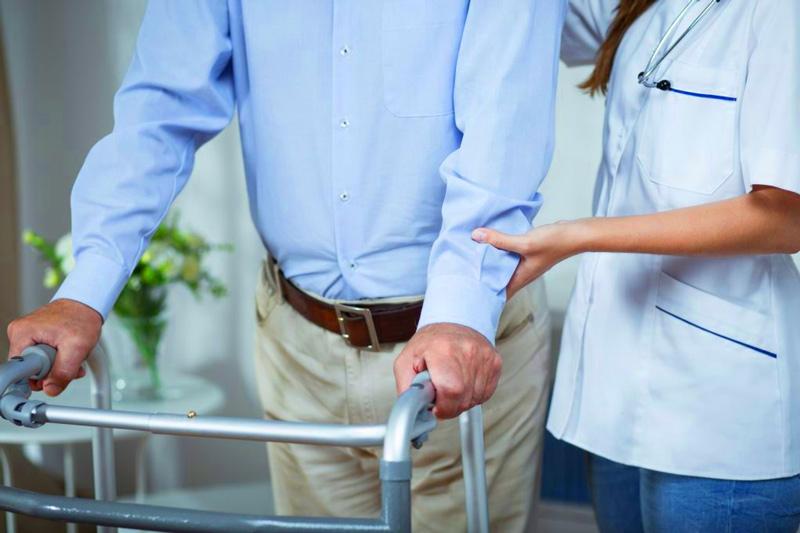 Fisioterapia en personas ancianas